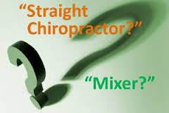 straight vs mixed chiropractic